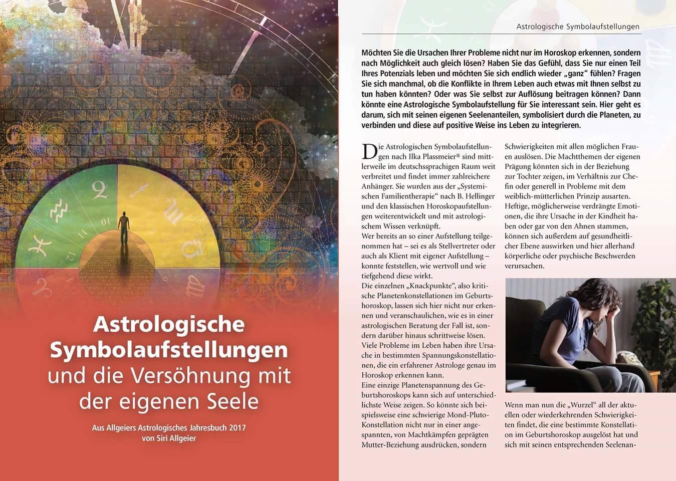 Artikel Astrologische Symbolaufstellungen