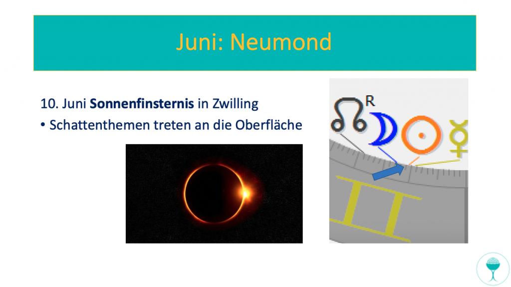 Astrologisch-spirituelle Vorschau für Juni: Sonnenfinsternis