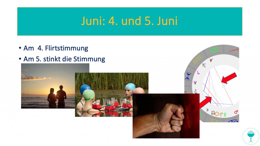 astrologisch spirituelle Vvorschau für Juni - Konstellationen